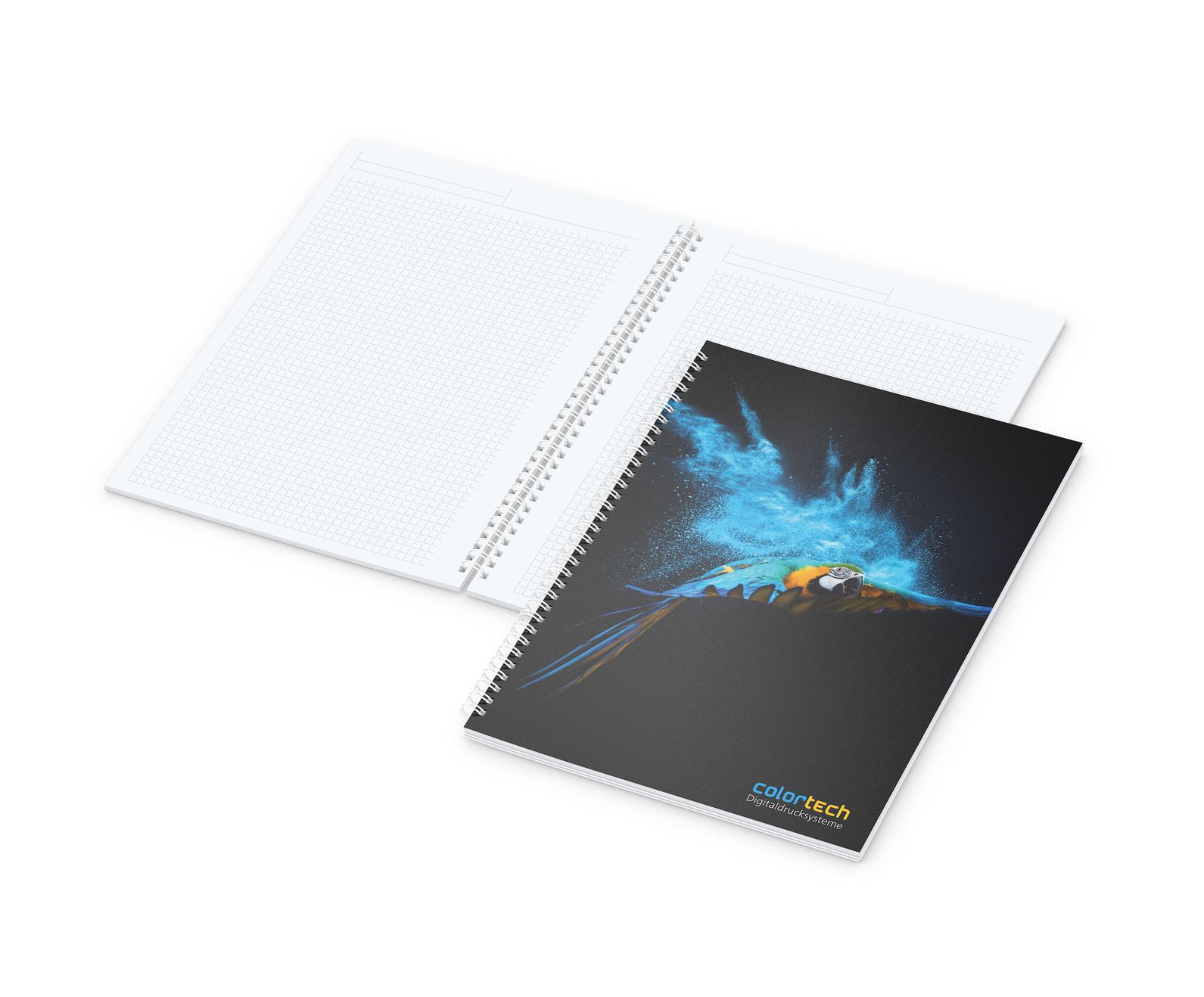 Notizbuch Meeting-Book A4 mit Einband Polyprop-Frost-Transparent